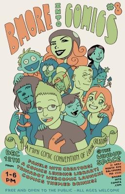 Bmore into Comics 8
