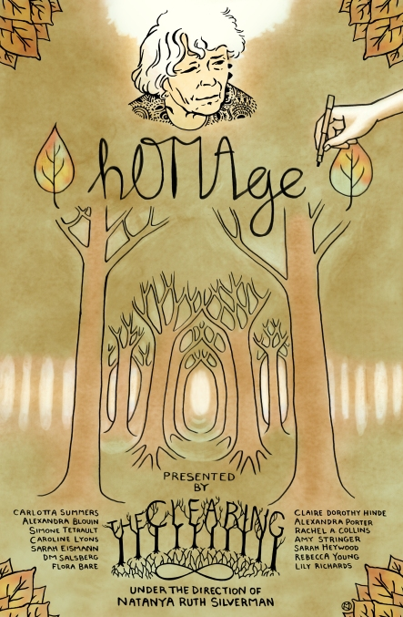 Homage Festival Poster