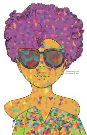 Portrait Coloring Book Cover