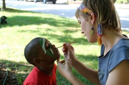 Better Eutaw Block Party Face Painting