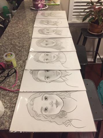 20 Minute Caricatures