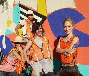 Jessie & Katie Mural Help