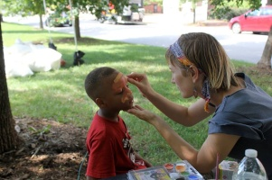 Melody Often Face Painting Eutaw Baltimore