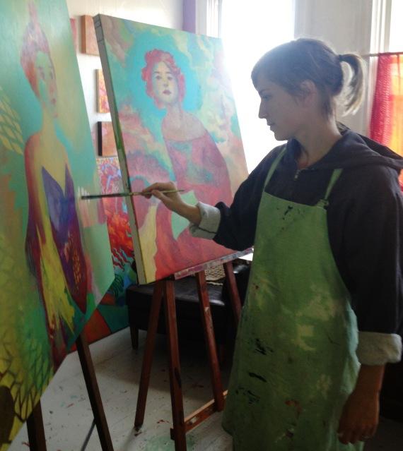 Melody Often in the Studio