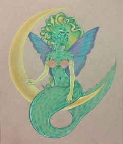 Mermaid Fairy Commission