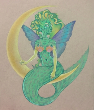 Mermaid Fairy Commission
