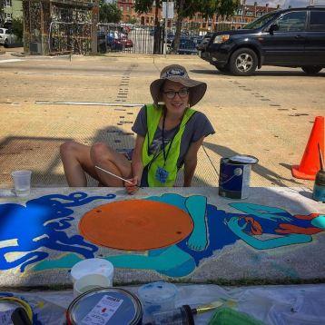 Storm Drain Murals Artscape 2015