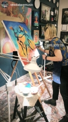 Live Painting pic by Vee Da Bee